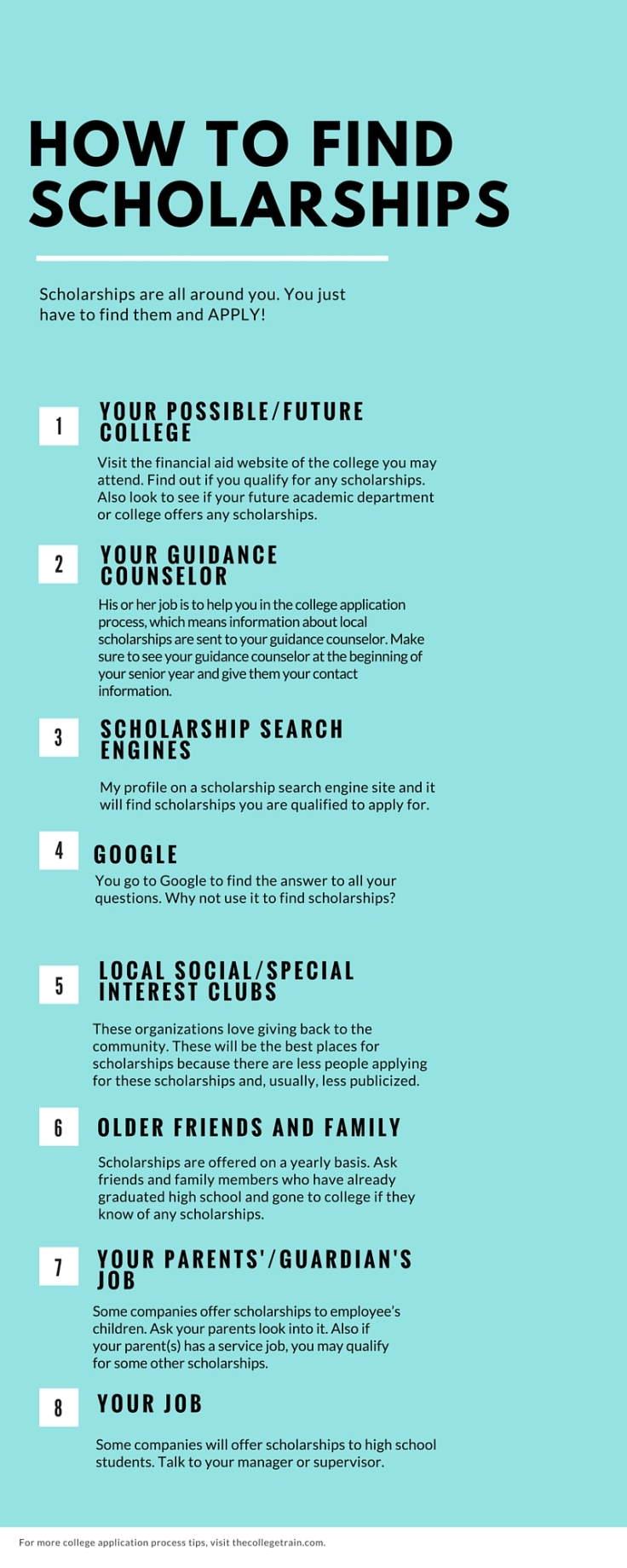 how to findScholarships