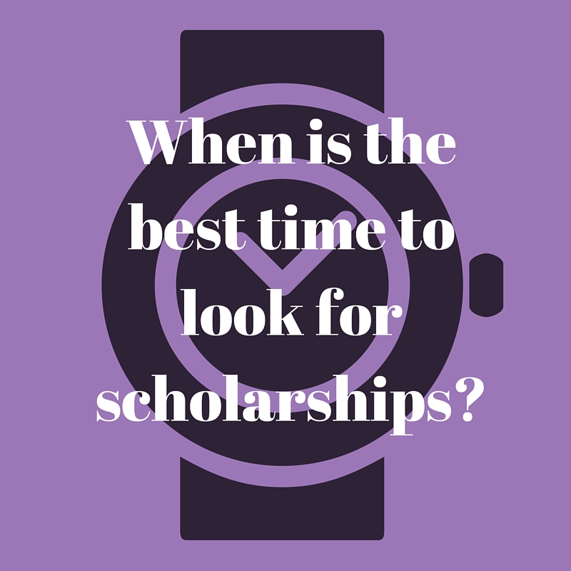 When is the best time to apply to college?